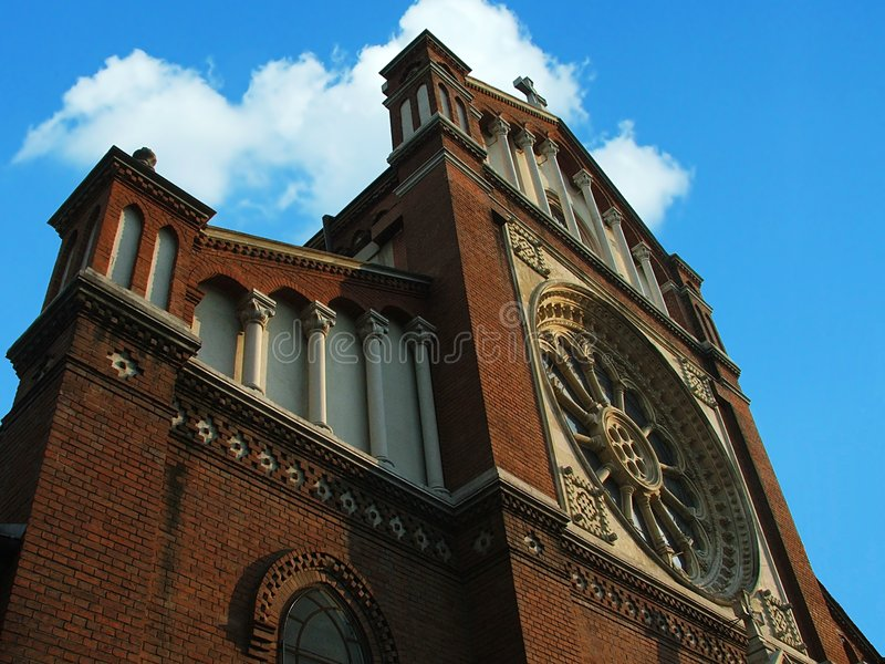 Cathedral Catholic Στοκ εικόνες με δικαίωμα ελεύθερης χρήσης
