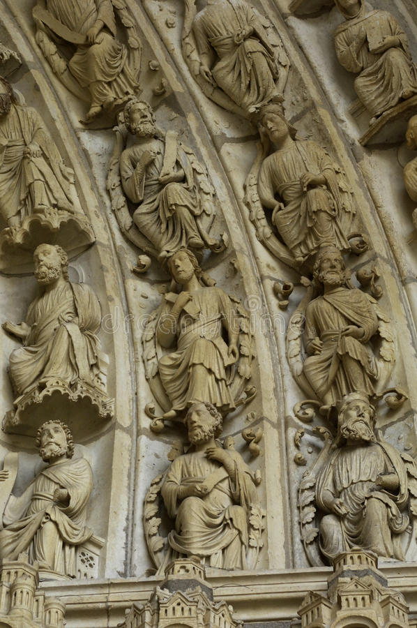 Cathedral Of Chartres Royalty Free Stock Photos