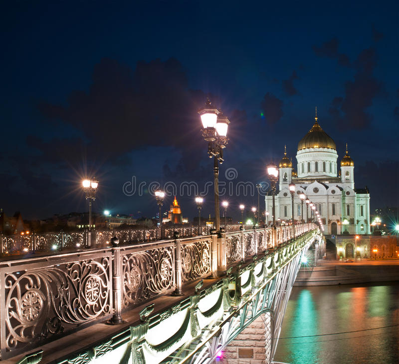 The Cathedral of Christ the Savior royalty free stock photography