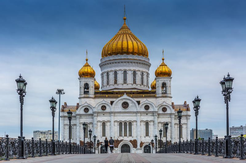 Cathedral of Christ the Saviour. stock photography