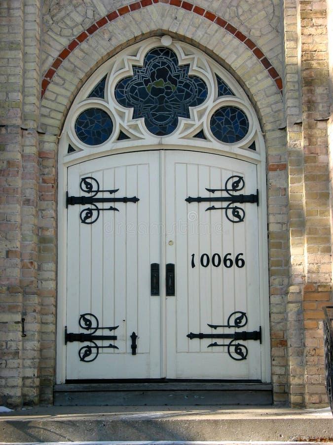 cathedral church door στοκ φωτογραφίες