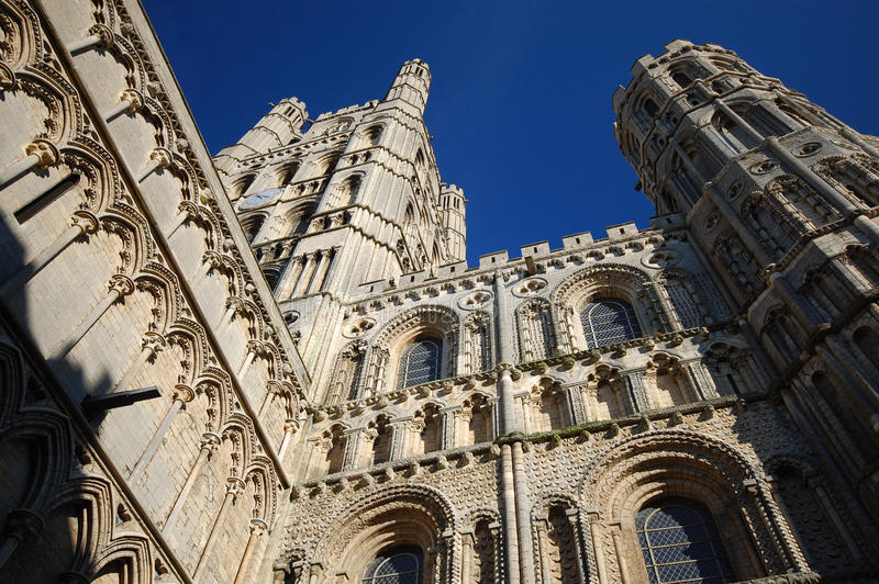 Cathedral Church Ely, England royalty free stock photos