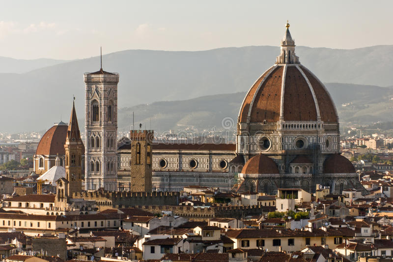 Cathedral Church of Florence stock image