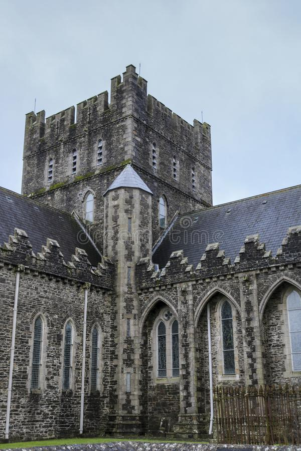 The Cathedral Church of St. Brigid in Kildare stock photo
