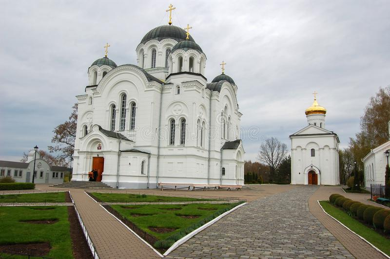 The Cathedral in the city of Novopolotsk Belarus. The Big Cathedral in the city of Novopolotsk Belarus stock image
