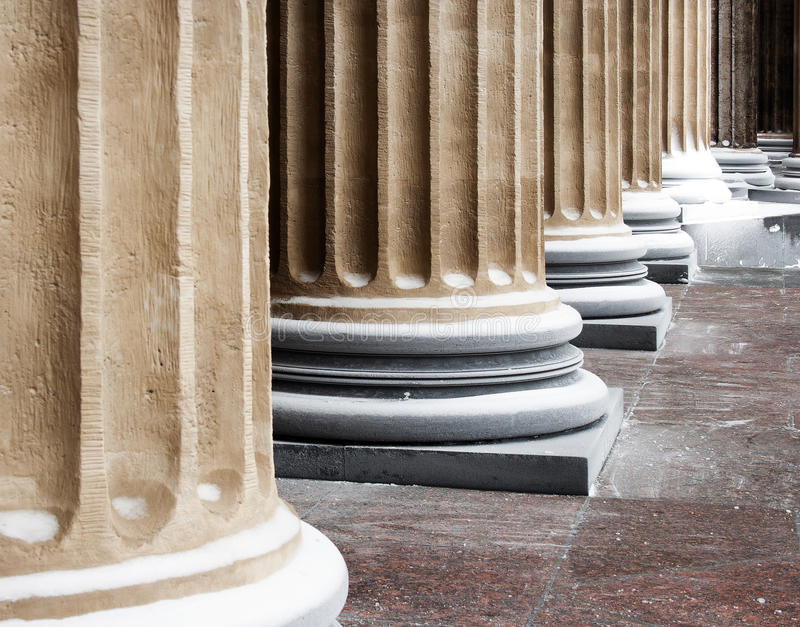Cathedral classic columns