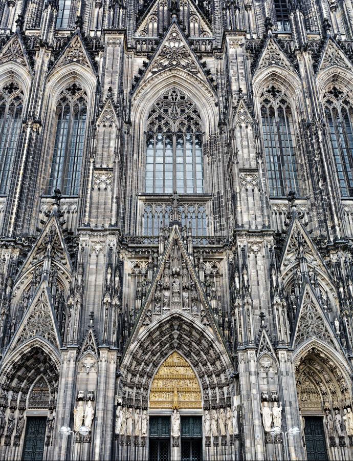 Download The cathedral of Cologne stock image. Image of german - 30875463