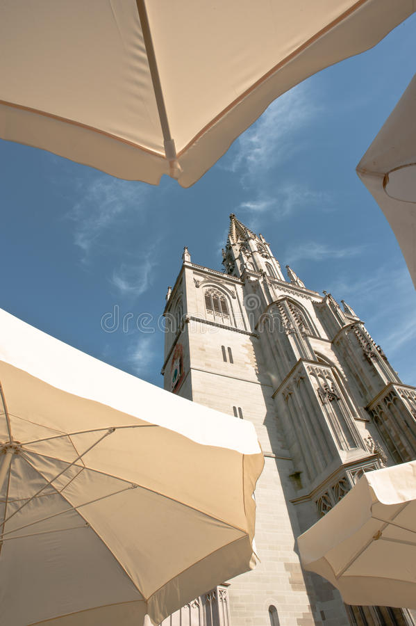 Download Cathedral of constance stock photo. Image of sunshade - 20102084