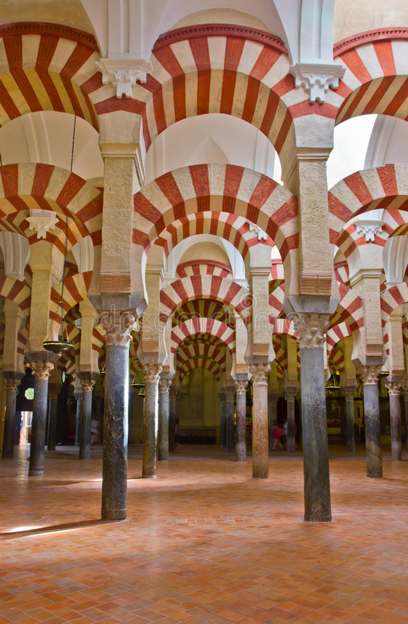 Cathedral of Cordoba, Spain royalty free stock image