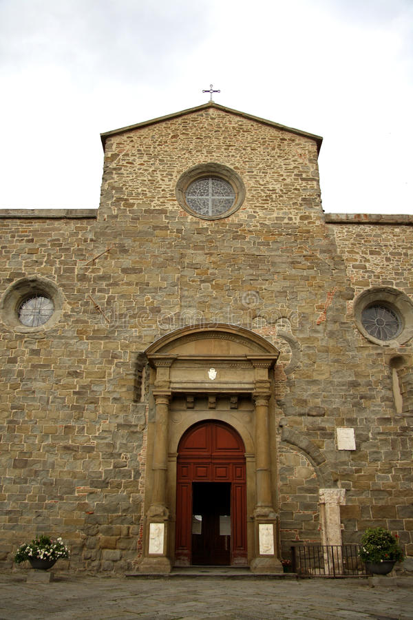 Cathedral in Cortona (Italy)