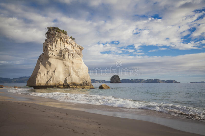 Cathedral Cove New Zealand. Cathedral Cove Coromandel New Zealand stock photo