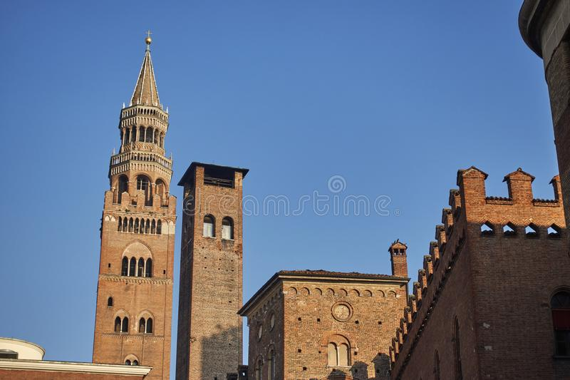 Cathedral of Cremona Italy royalty free stock photo