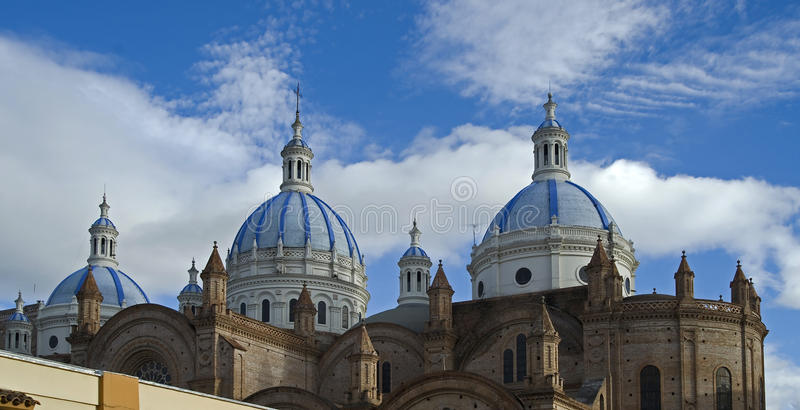 Cathedral In Cuenca 1 Stock Photos