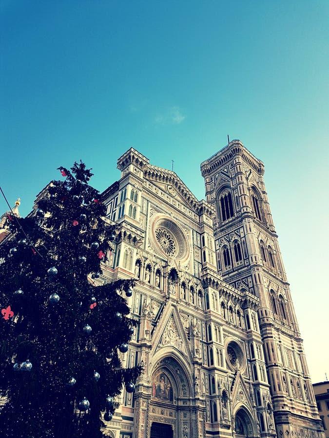 cathedral del fiore Φλωρεντία Μαρία santa στοκ φωτογραφία