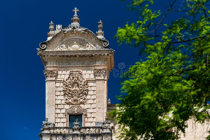 Cathedral Di SAN Nicola σε Sassari στοκ εικόνα με δικαίωμα ελεύθερης χρήσης
