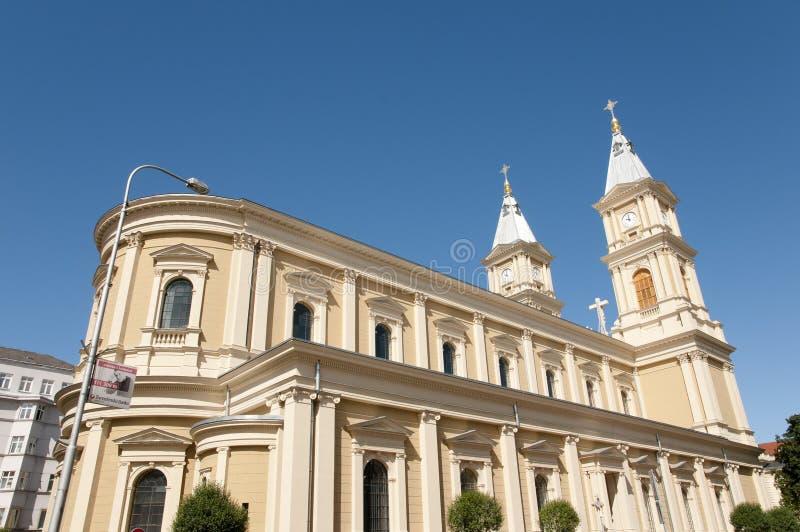 Cathedral of the Divine Saviour - Ostrava - Czech Republic. Cathedral of the Divine Saviour in Ostrava - Czech Republic stock photography