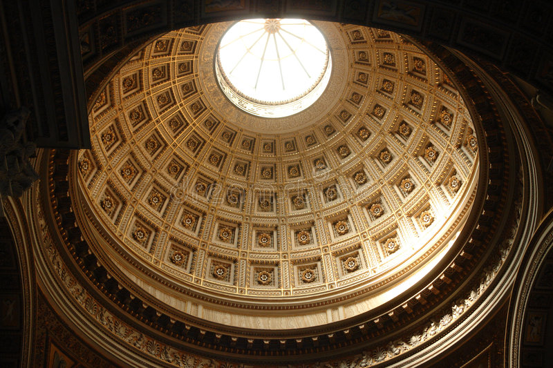 Download Cathedral dome stock image. Image of ceiling, cathedral - 2630809