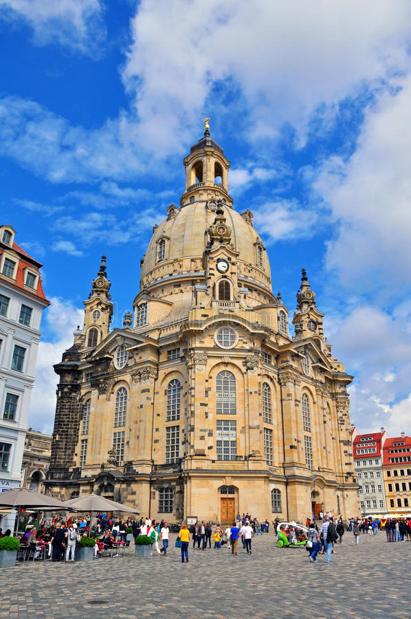 Download Cathedral of Dresden editorial stock photo. Image of germany - 41657448