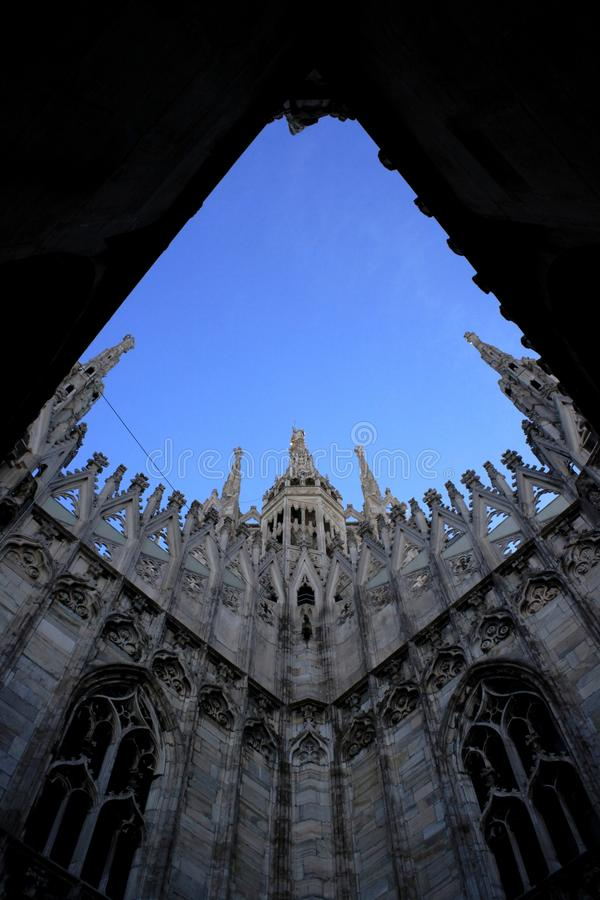 Cathedral of Duomo, Milan royalty free stock photography