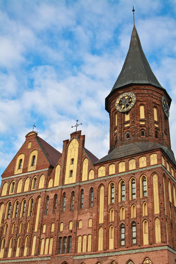 Download Cathedral Facade, Kaliningrad, Russia Stock Photo - Image: 19221826