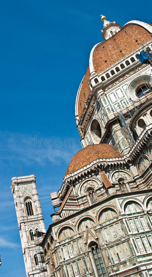 Cathedral of Florence, Tuscany, Italy royalty free stock images