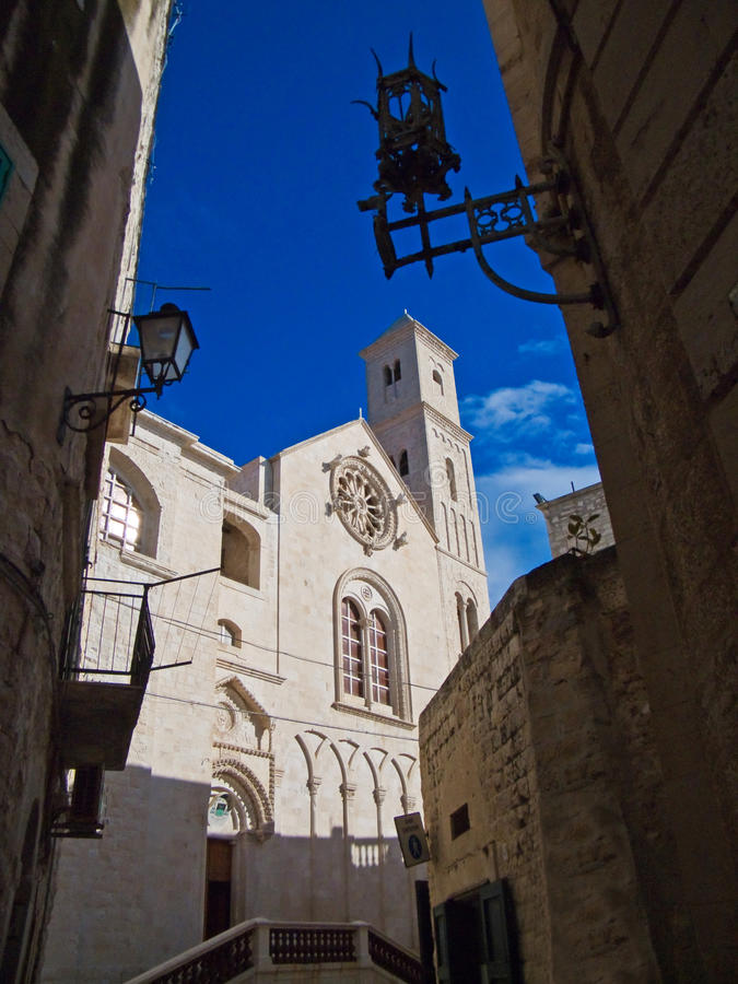 Cathedral of Giovinazzo. Apulia. stock images