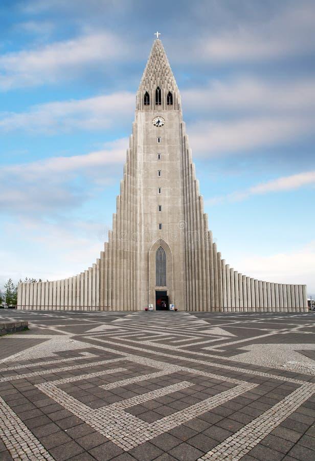 Cathedral Hallgrimskirkja, Reykjavik. stock photography