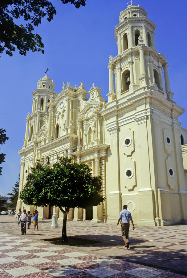Cathedral of Hermosillo. City at the state of Sonora in Mexico royalty free stock photography