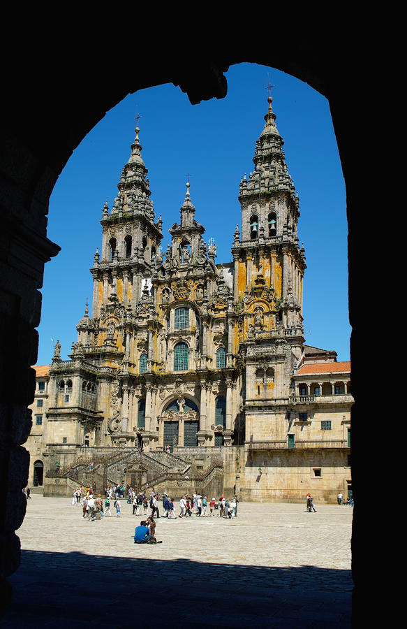 Free Cathedral In Santiago De Compostella Royalty Free Stock Photography - 22132257
