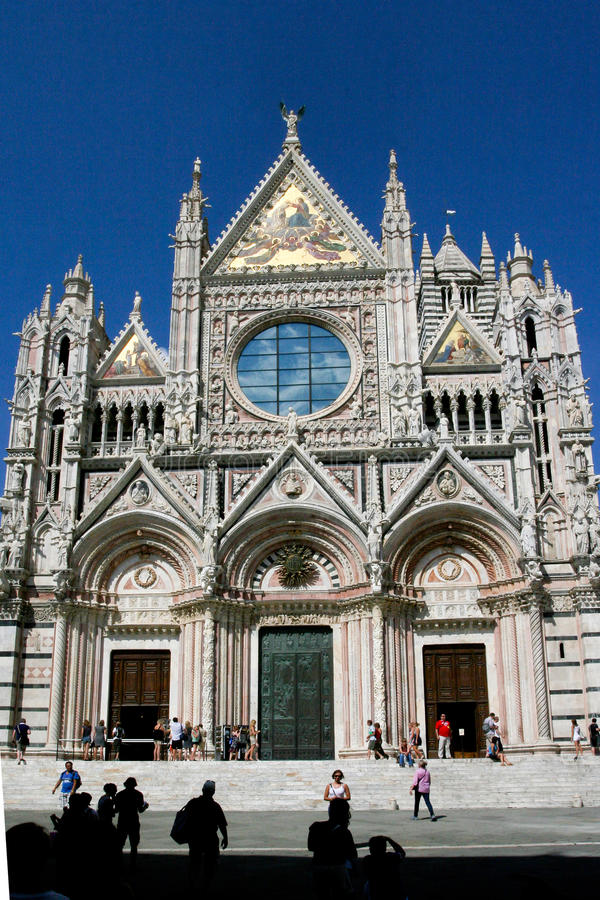 Free Cathedral In Sienna Stock Photo - 34380450