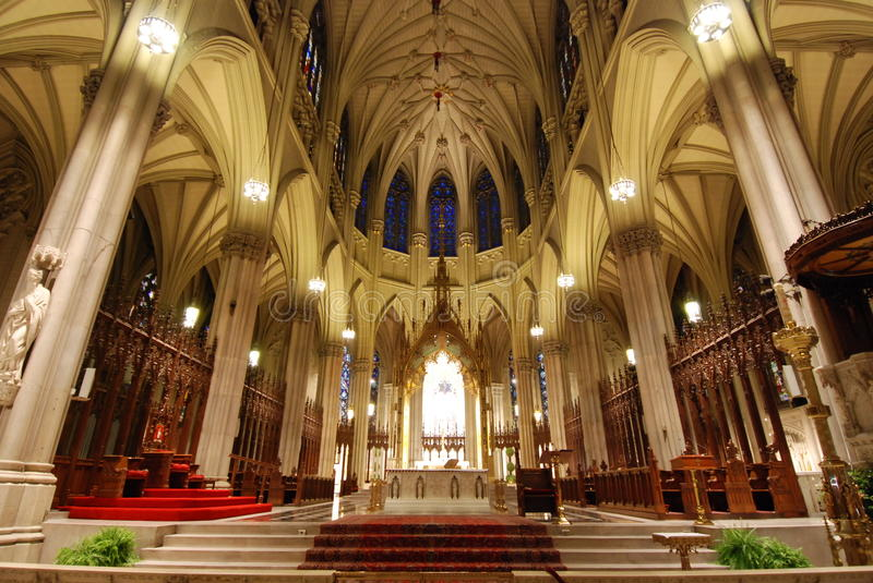 Download Cathedral interior stock photo. Image of cathedral, religious - 31009308