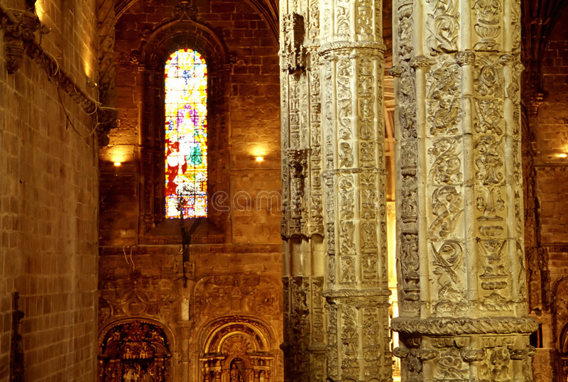 Download Cathedral Interior, Lisbon Royalty Free Stock Photo - Image: 194945