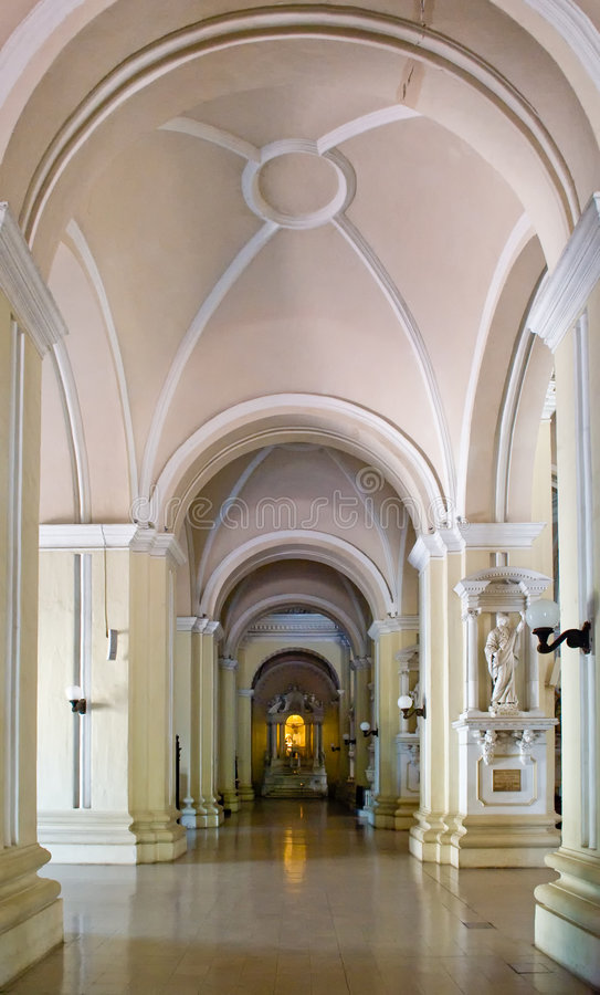 Cathedral Interiors royalty free stock photos