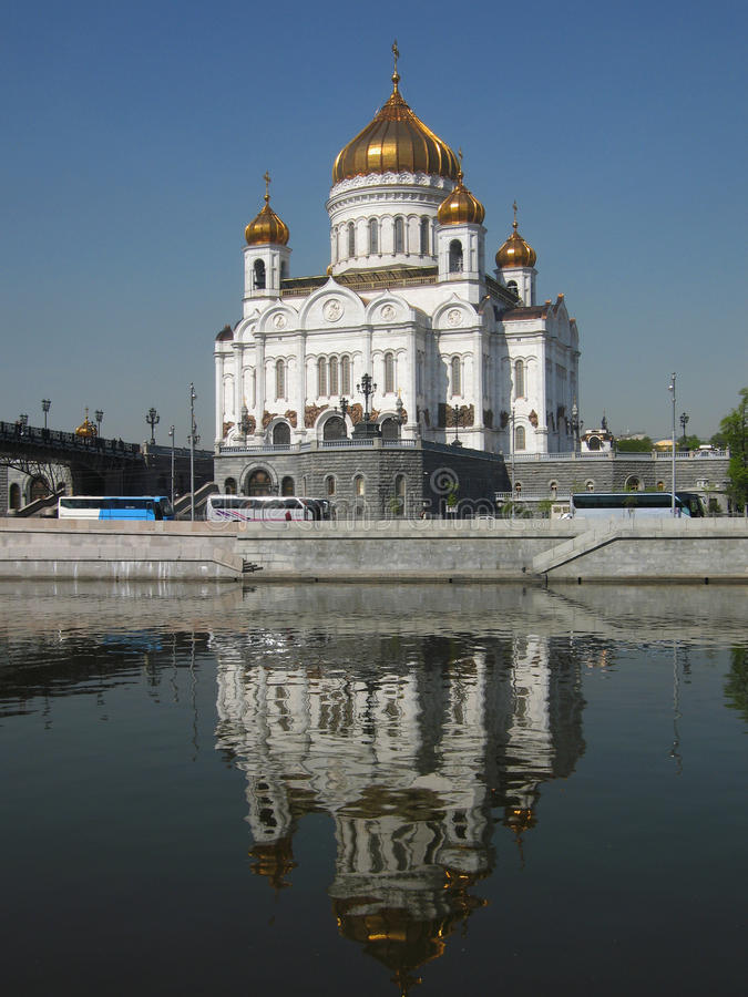 Download Cathedral Of Jesus Christ Saviour, Moscow Stock Image - Image: 12091137