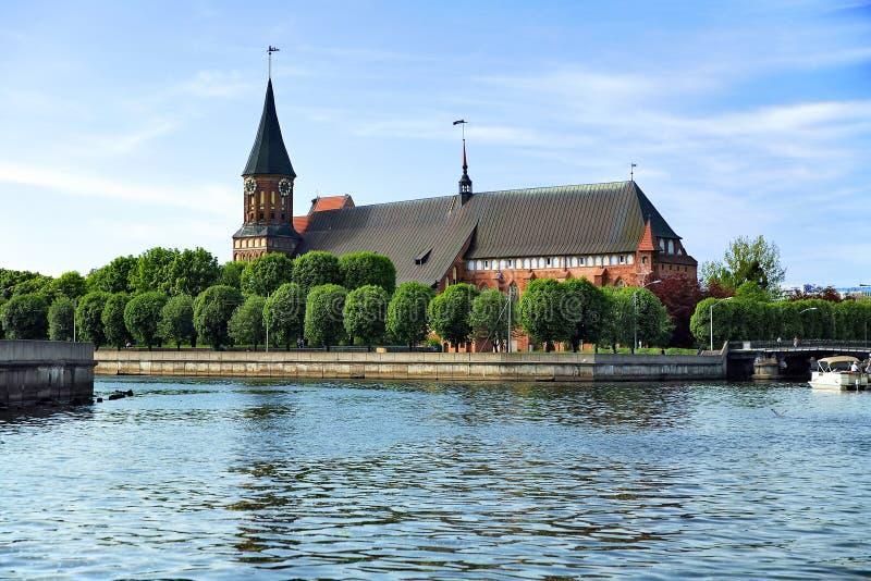 Cathedral in Kaliningrad (Koenigsberg), Russia royalty free stock photos