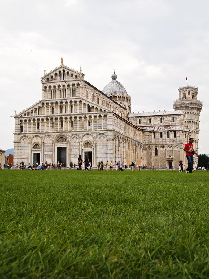 Download Cathedral And The Leaning Tower PISA, Italy Editorial Photography - Image: 22001762