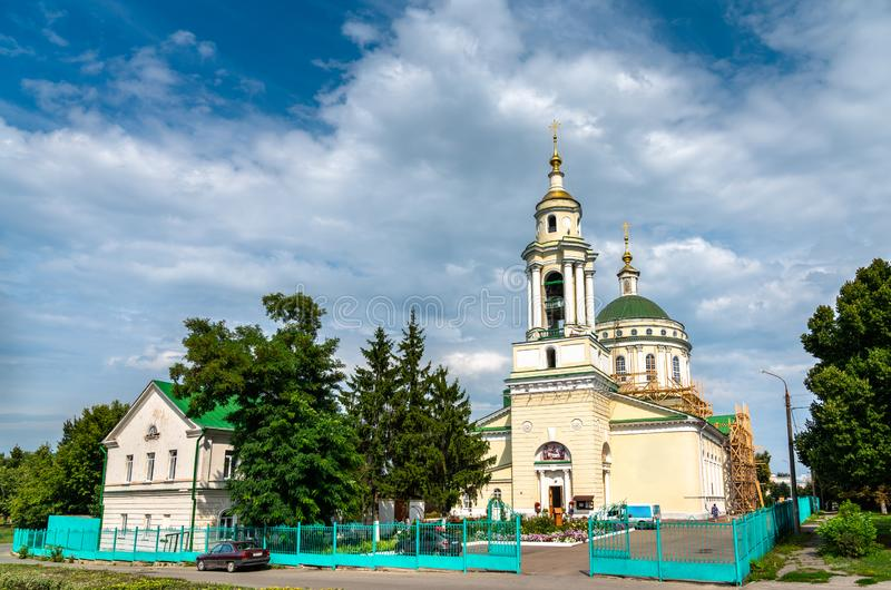 Cathedral of Michael the Archangel in Oryol, Russia stock photo