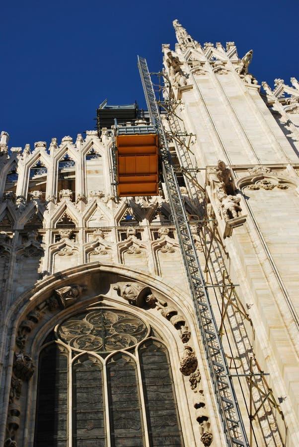 Cathedral of Milan stock photos