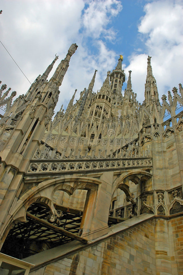 Cathedral Milan Italy stock images