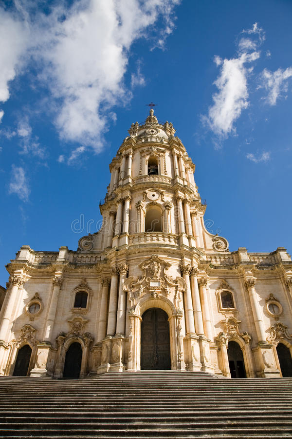 Cathedral, Modica, Sicily royalty free stock photos