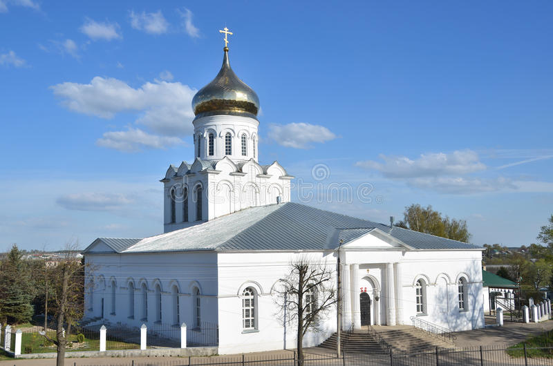 The Cathedral of the Nativity of Christ (1696), Alexandrov, Golden ring of Russia stock image