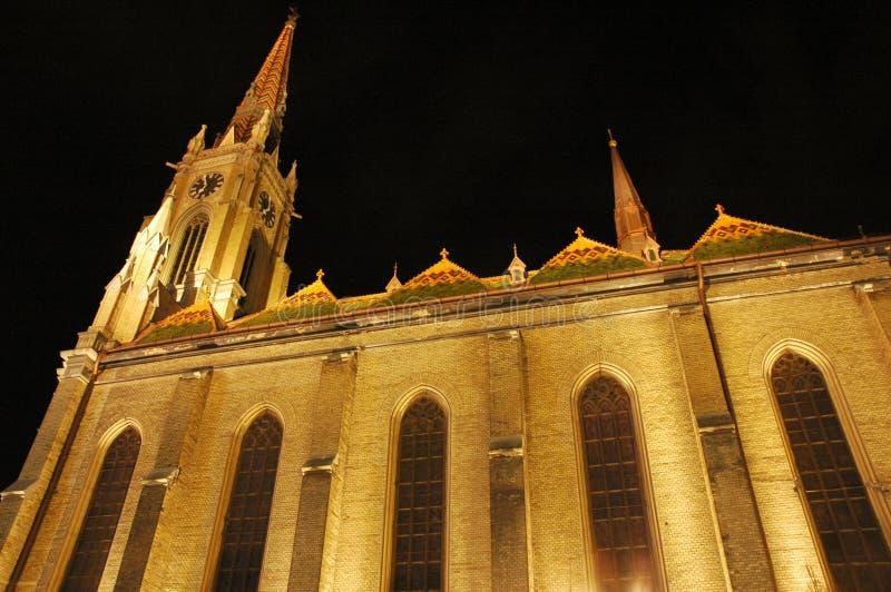 Cathedral in Novi Sad royalty free stock photo