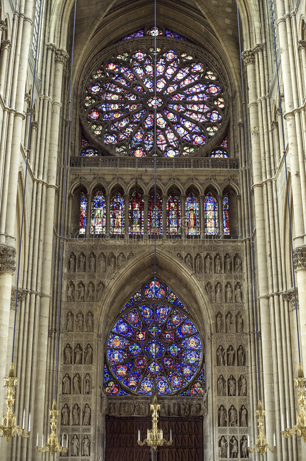 Free Cathedral Of Reims - Interior Stock Images - 27535484