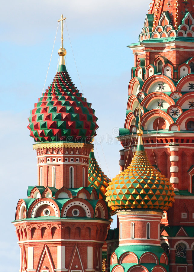 Free Cathedral Of Saint Basil Royalty Free Stock Photography - 7540187