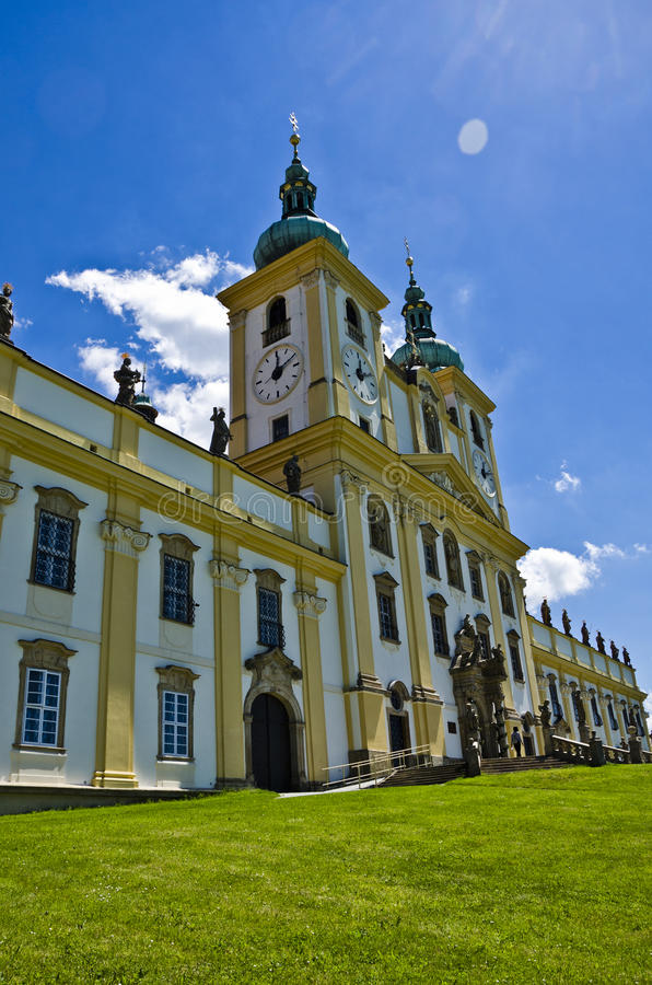 Cathedral, Olomouc Czech Republic royalty free stock photography