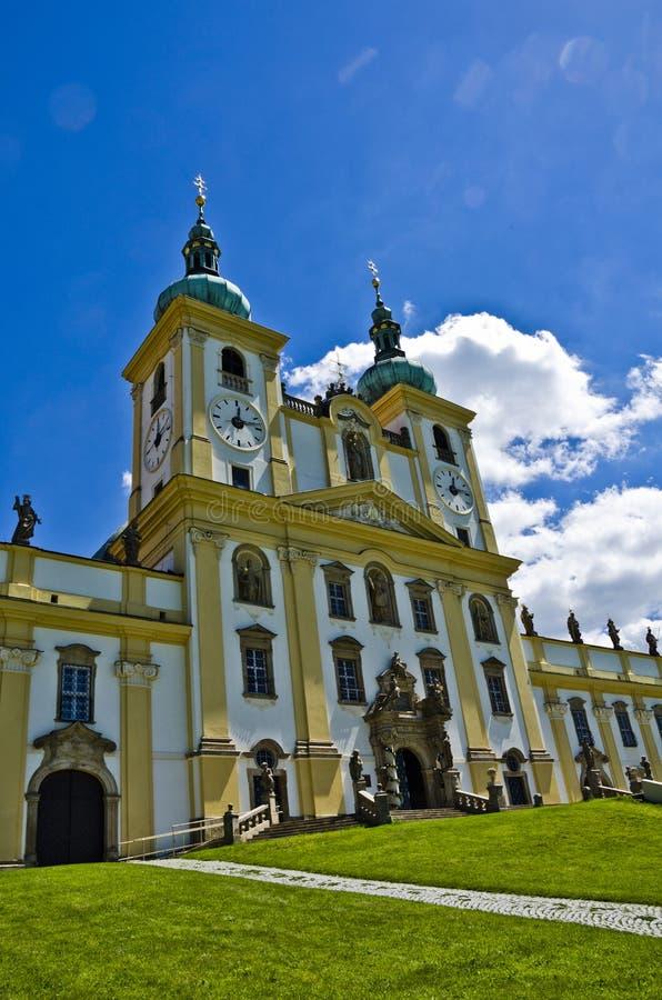 Cathedral, Olomouc Czech Republic stock photo