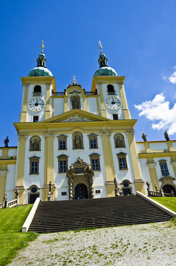 Cathedral, Olomouc Czech Republic royalty free stock photos