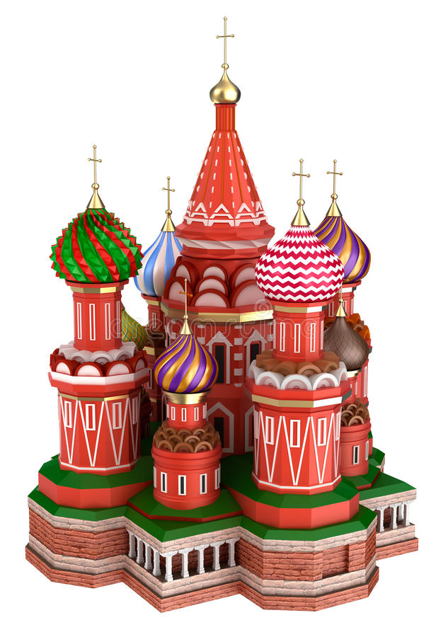 Free Cathedral On The Red Square In Moscow, Russia, Isolated Stock Image - 45648541
