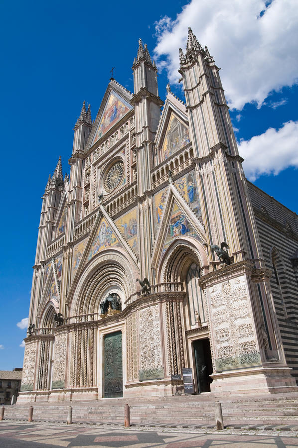 Download Cathedral Of Orvieto. Umbria. Italy. Stock Photos - Image: 26001783