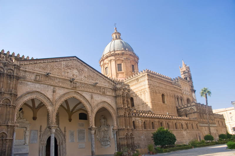 Cathedral of Palermo, Italy royalty free stock photos